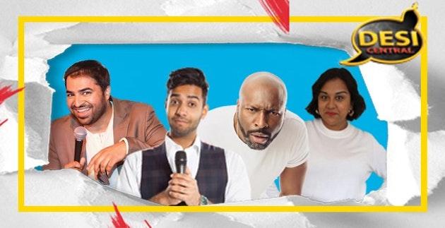 Desi Central Comedy Show : Preston