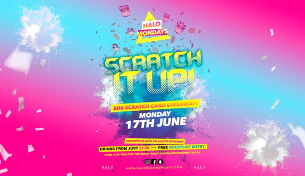 Scratch It Up! 17.06.19 Halo Mondays