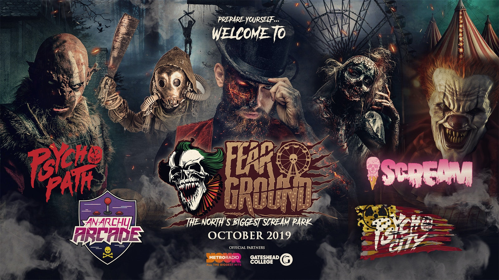 Psycho Path – Saturday 26th October 2019