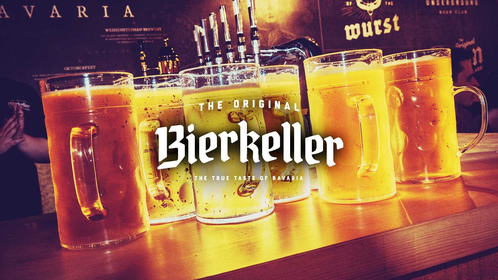 Bierkeller – Saturday Packages