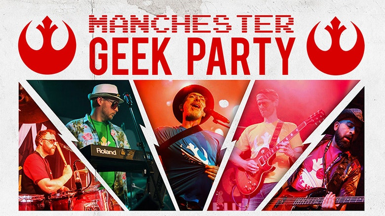 Manchester Geek Party ft. Blues Harvest