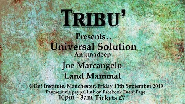 Tribu' Presents Universal Solution