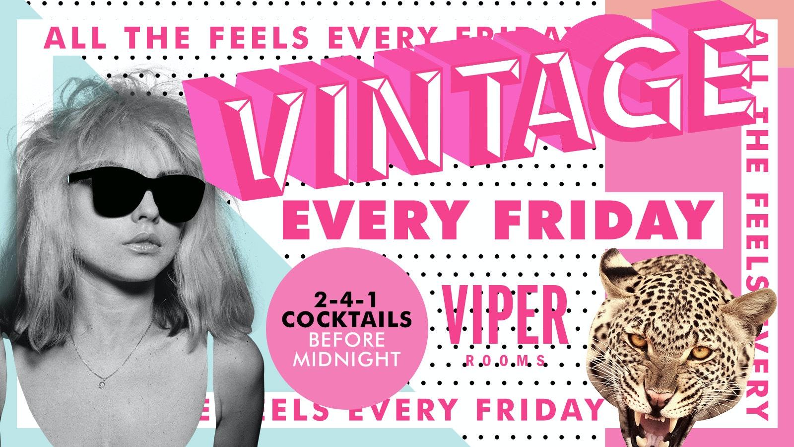 Fridays – Vintage