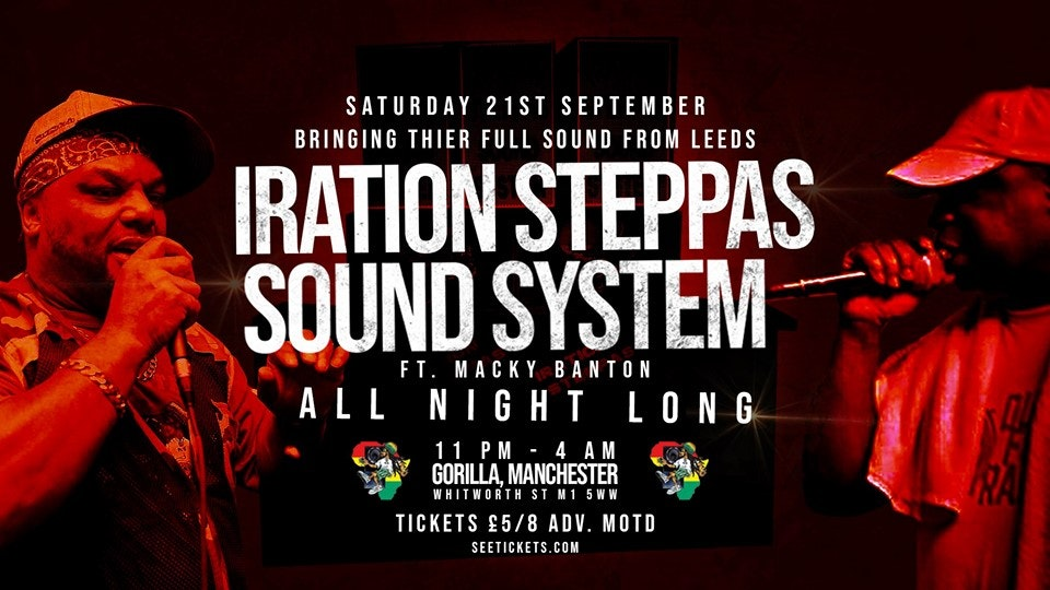 IRATION STEPPAS SOUND SYSTEM (ALL NIGHT LONG)
