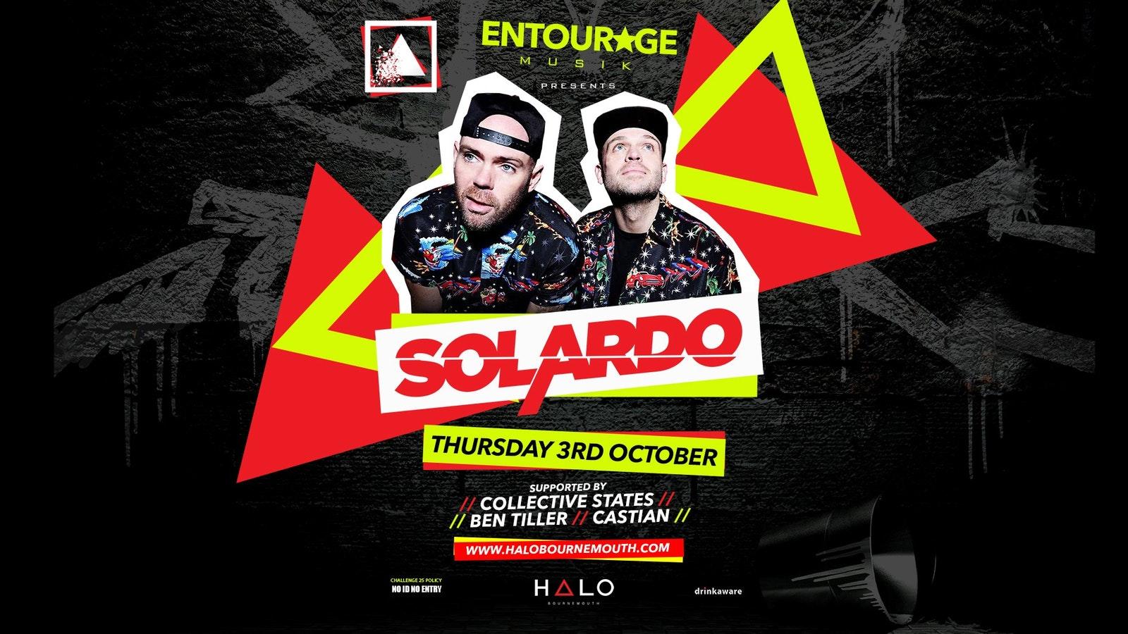 Entourage & Halo Sessions Present: Solardo