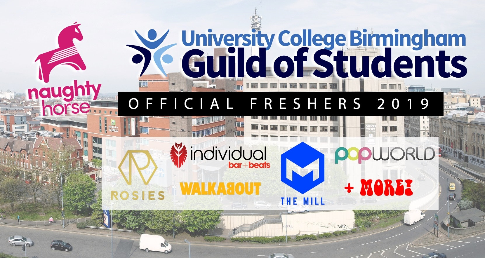 OFFICIAL UCB FRESHERS 2019 – Final Week Wristbands NOW ON SALE!