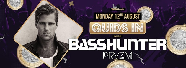 Quids In Mondays at PRYZM presents Basshunter