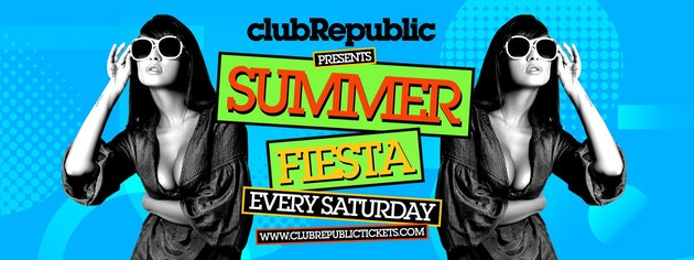 Summer Fiesta: £3 Ticket includes First Drink on Us // Drinks from £1.80