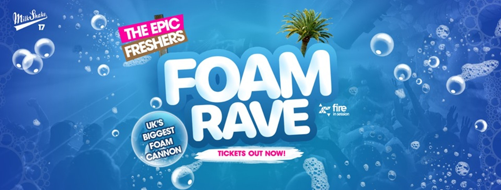The Epic Freshers Foam Rave 2019   Live at Fire, Vauxhall London