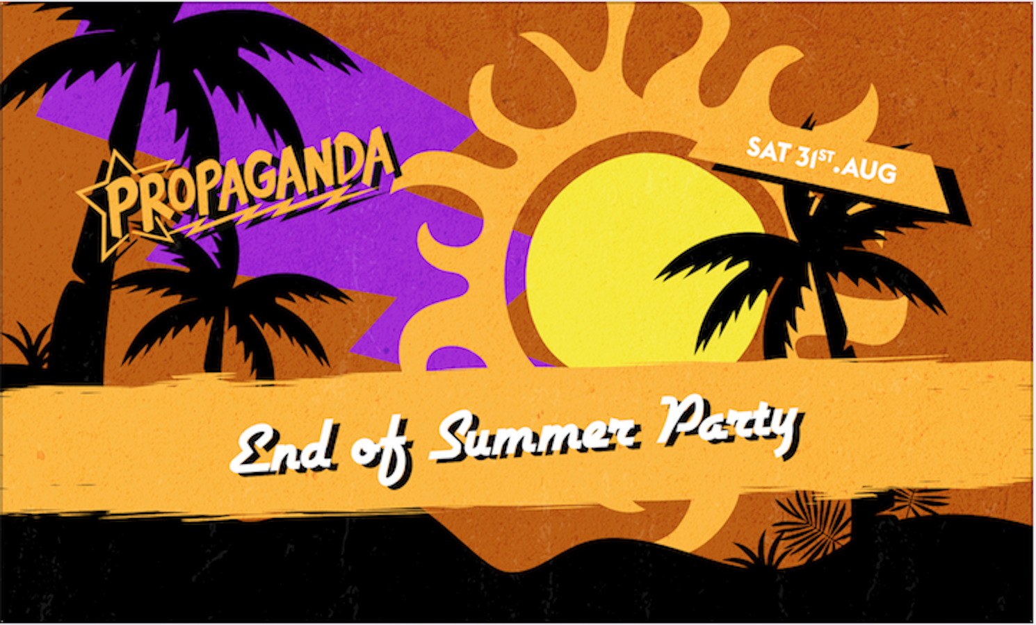 Propaganda London – End of Summer Party