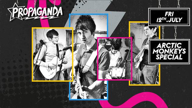 Propaganda Cambridge – Arctic Monkeys Special