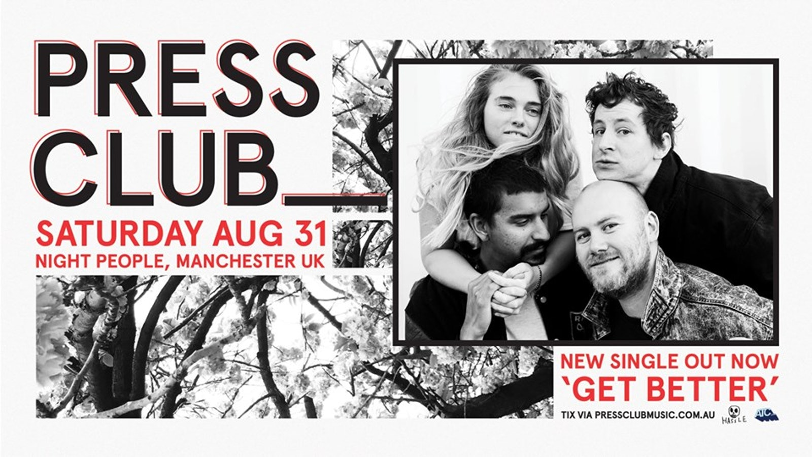 PRESS CLUB // Manchester