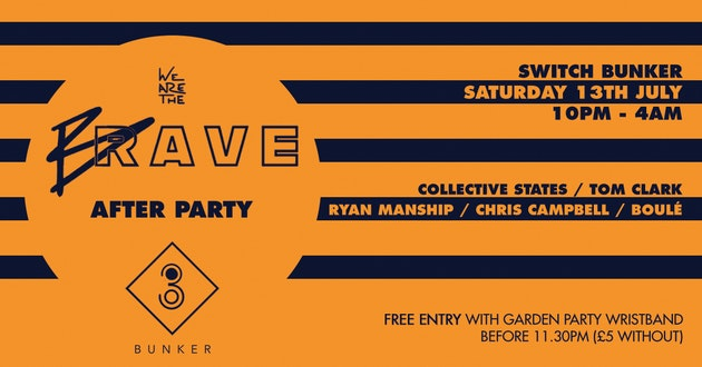 We Are The Brave Garden Party: The After Party