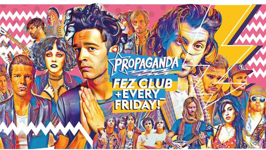 Propaganda Cambridge – Pizza Party!