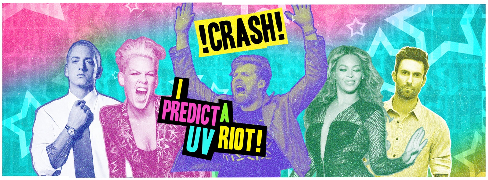 CRASH – I Predict A UV Riot! Free Glow Sticks & Face Paints!