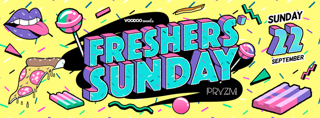 Freshers Sunday at Pryzm