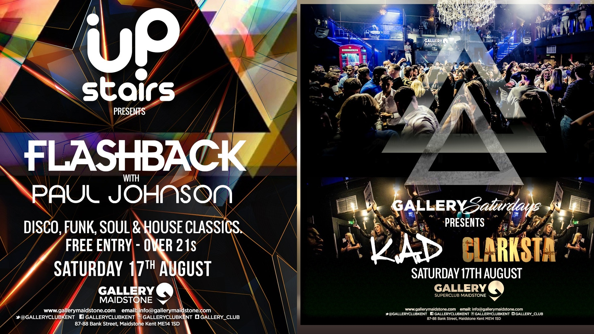 Gallery Saturdays 17th August