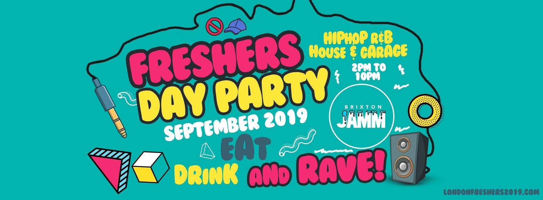 The Official Freshers Day Party 2019 | Get Tickets Now! 🚫🧢✊