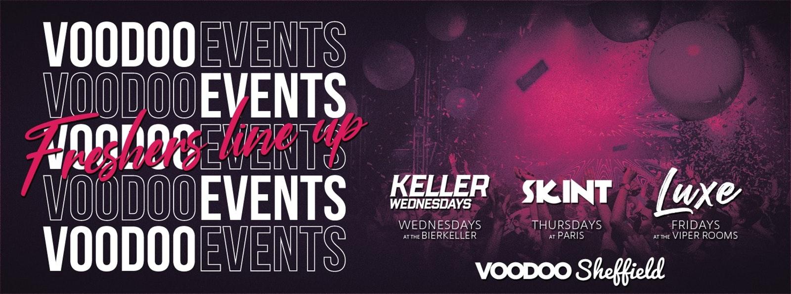Voodoo Freshers Week 1 Ticket