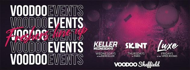 Voodoo Freshers Week 2 Ticket