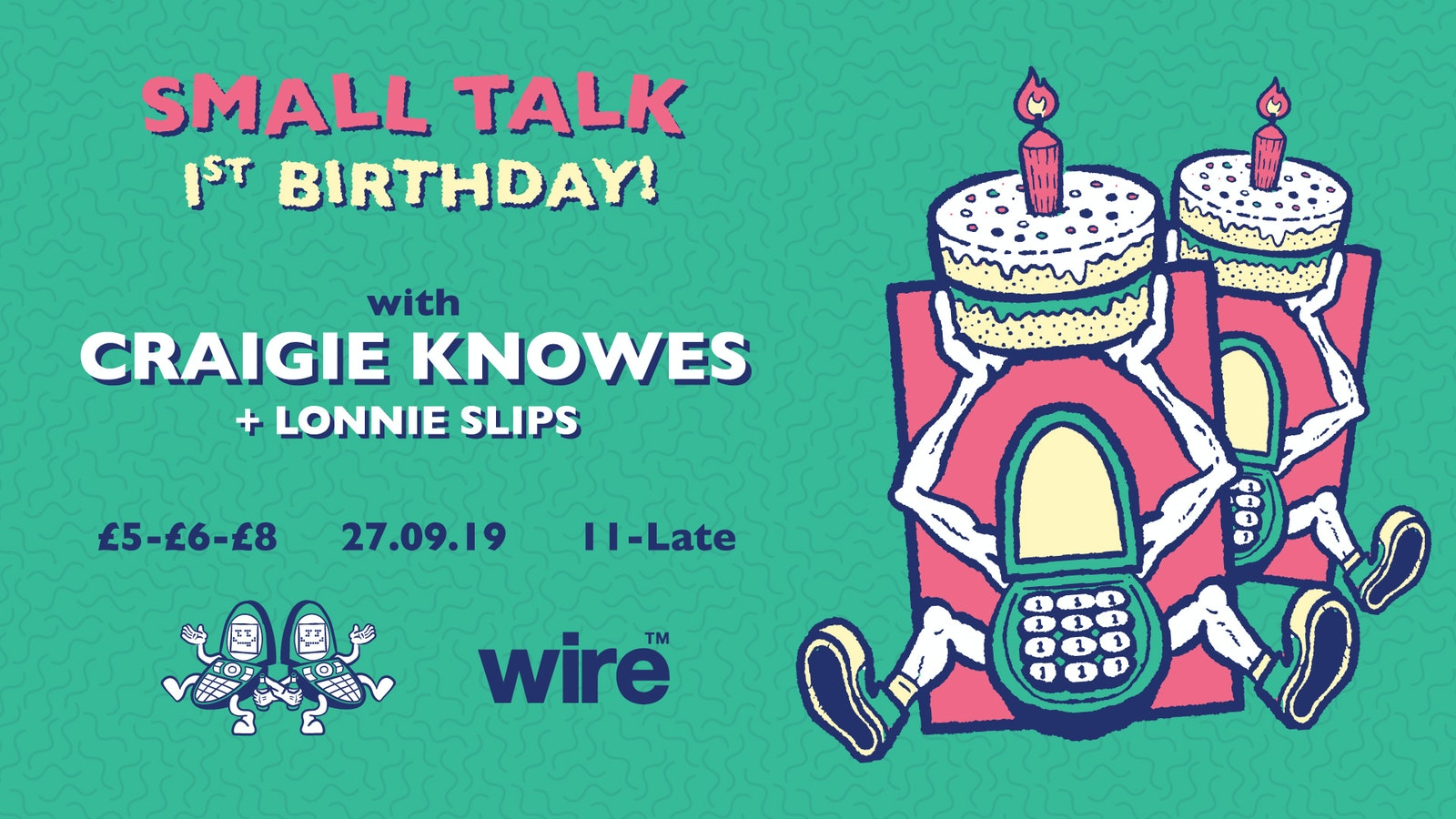 Small Talk 1st Birthday: Craigie Knowes