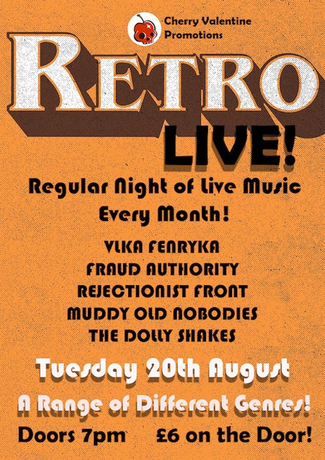 Retro Live! A Night Of Live Music!