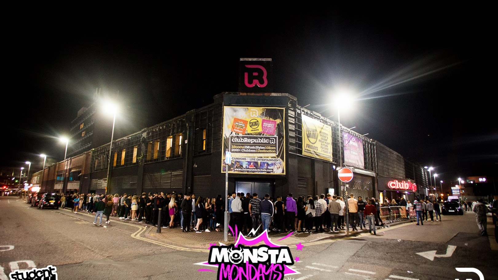 Monsta Mondays – Freshers UniClash [DMU vs UOL]  Club Republic