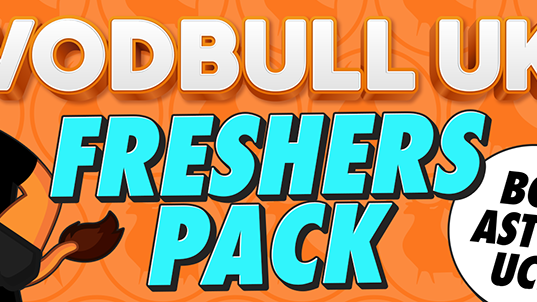 Vodbull UK Freshers Pack – BCU/Aston/UCB 🚫SOLD OUT🚫