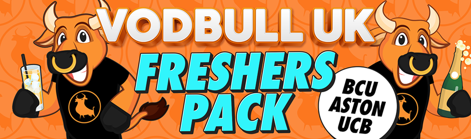 Vodbull UK Freshers Pack – BCU/Aston/UCB