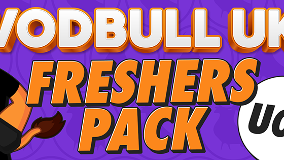 Vodbull UK Freshers Pack – UoB – 🚫SOLD OUT🚫