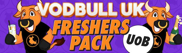 Vodbull UK Freshers Pack – UoB