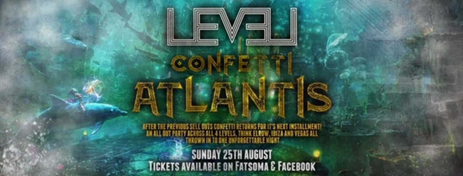 Confetti Take over – Atlantis