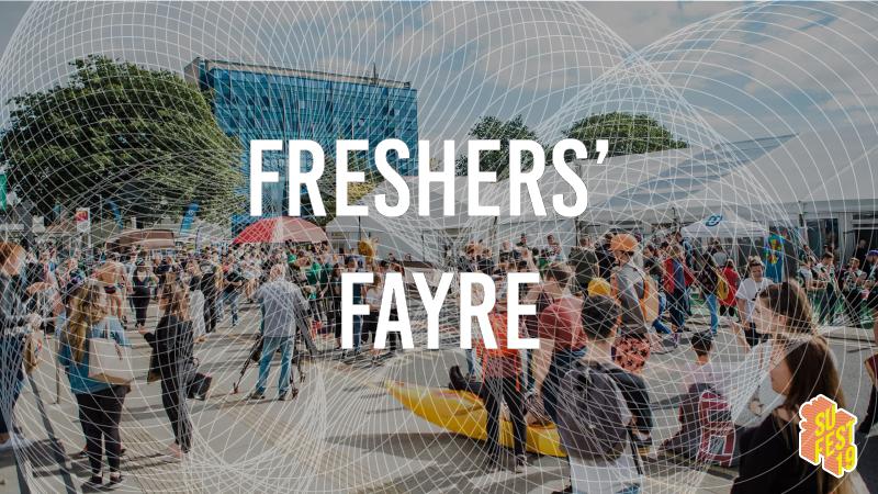 Freshers' Fayre • SU Fest 19 • Daytime