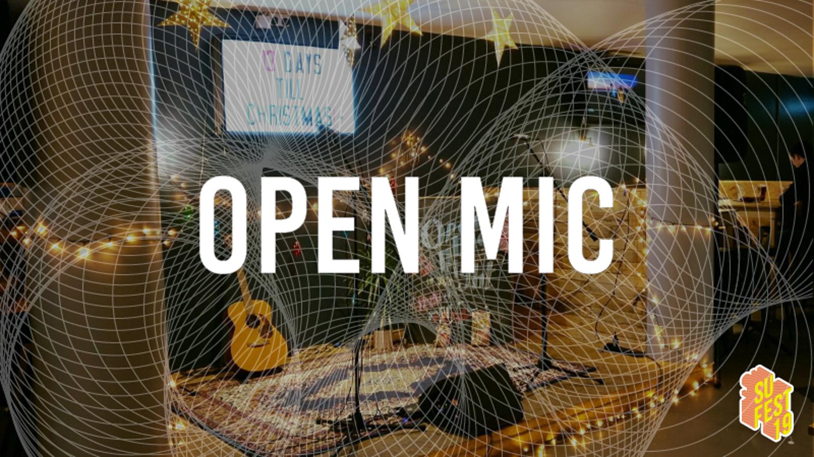 Open Mic • SU Fest 19 • Evening