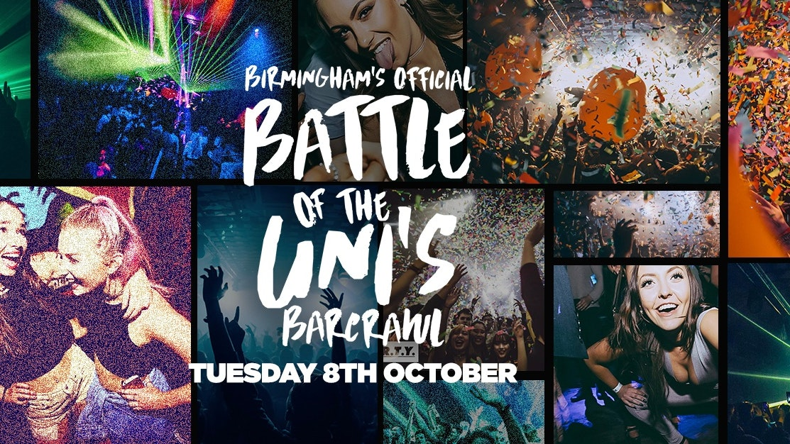 Battle Of The Unis Bar Crawl