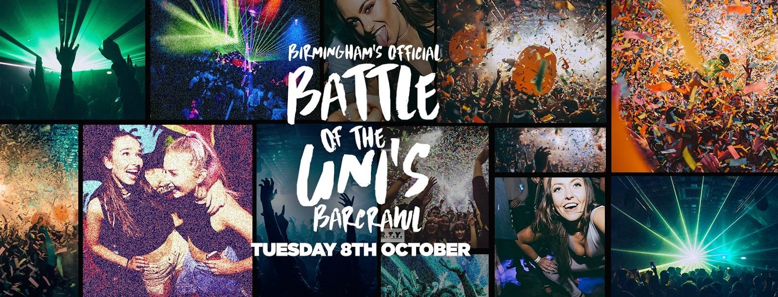 Battle Of The Unis Bar Crawl