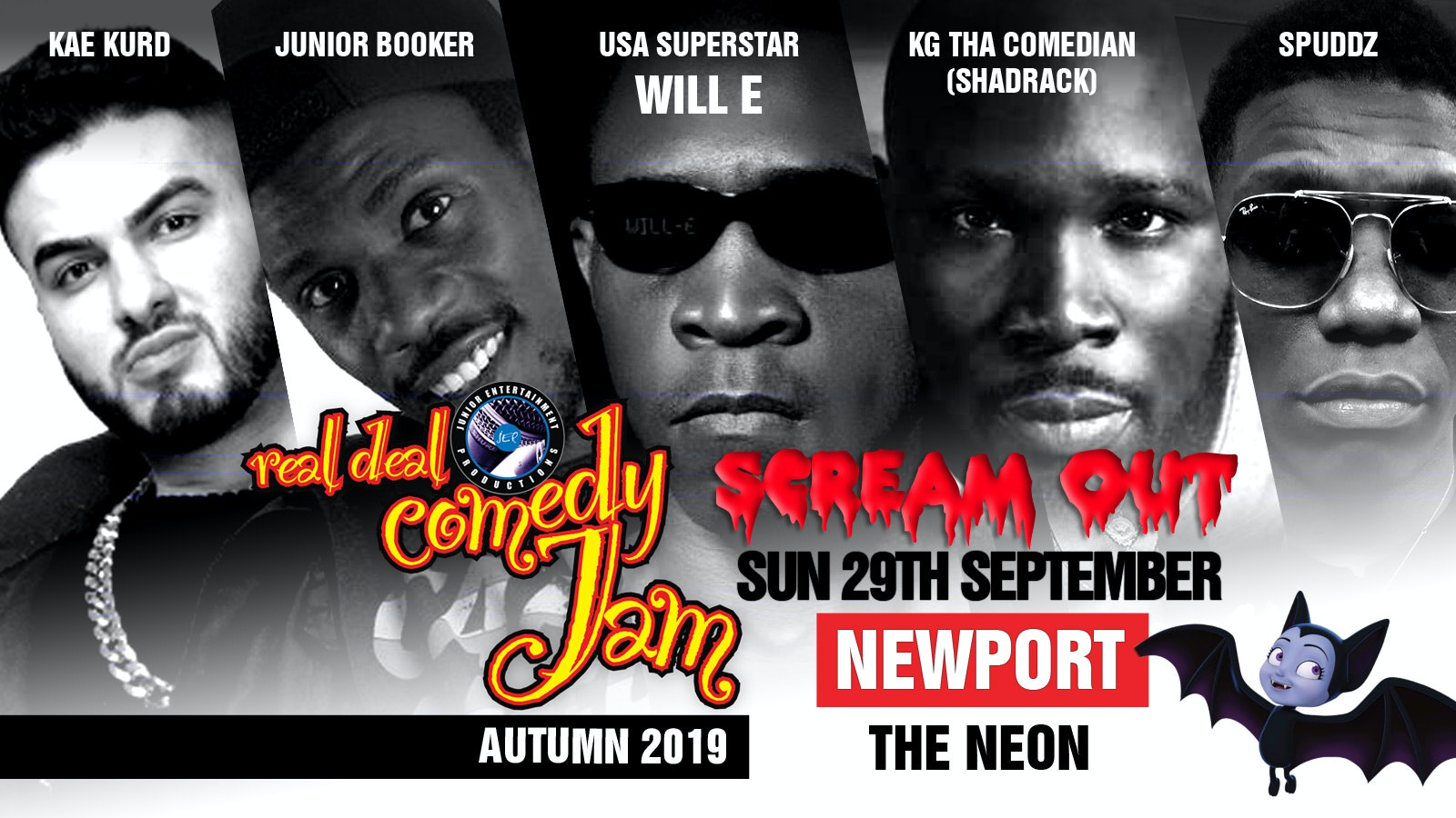 Real Deal Comedy Jam – Newport 'Scream Out'