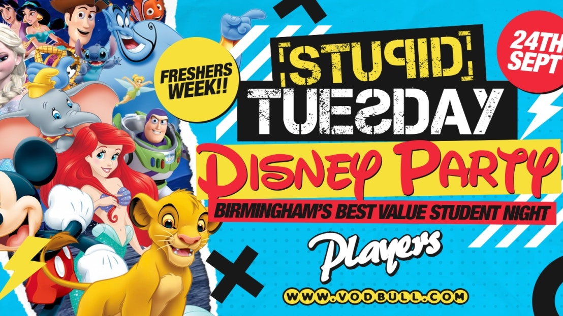 🎉 Stuesday Freshers Week – SOLD OUT 🎉 100 on the door from 11pm 🎉