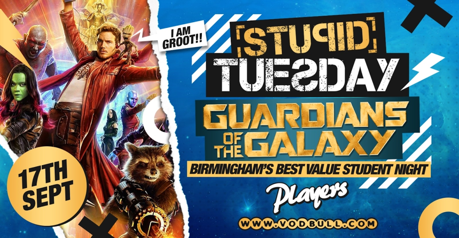 🌌 Stuesday: Guardians of the Galaxy Freshers Week 🌌
