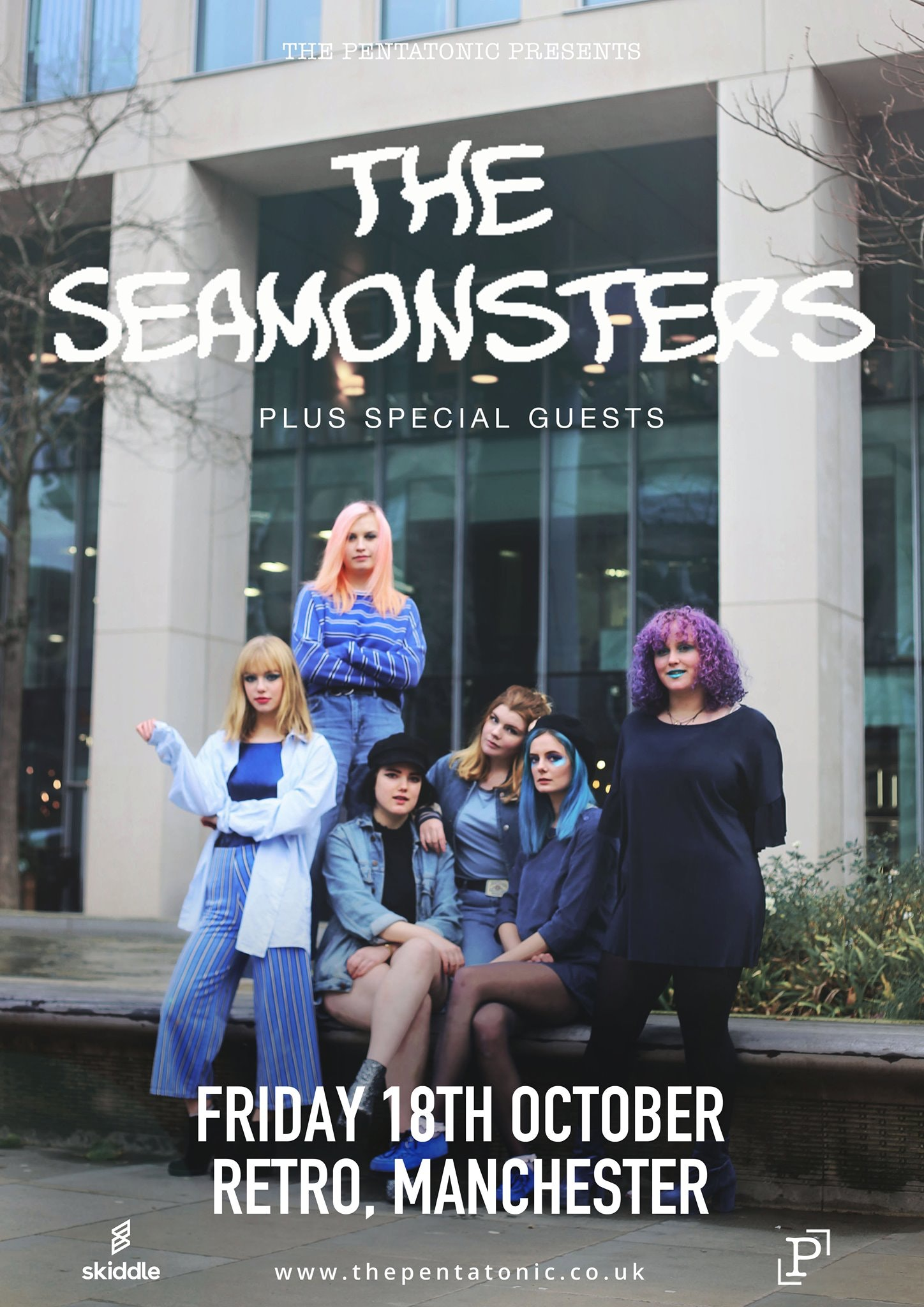 The Pentatonic Presents: The Seamonsters