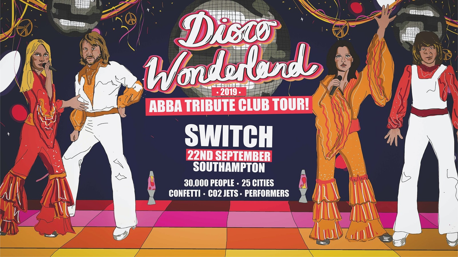 Disco Wonderland: Abba Tribute Club Tour