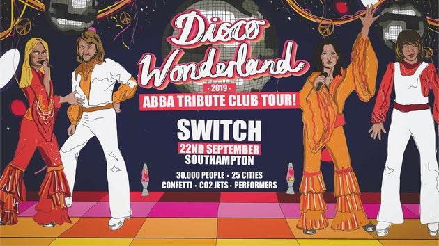 Disco Wonderland: Abba Tribute Club Tour