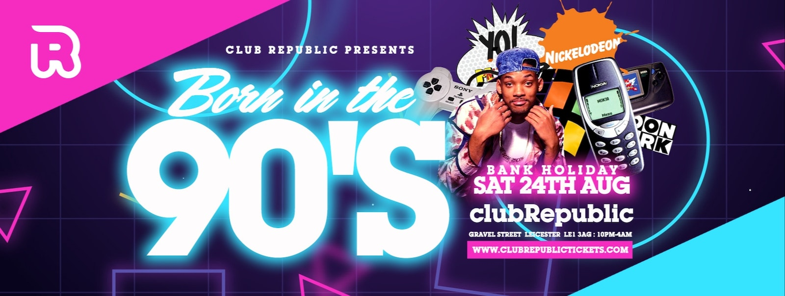 """[90% SOLD OUT!] """"Born in the 90's"""" – Limited tickets £1!!!"""