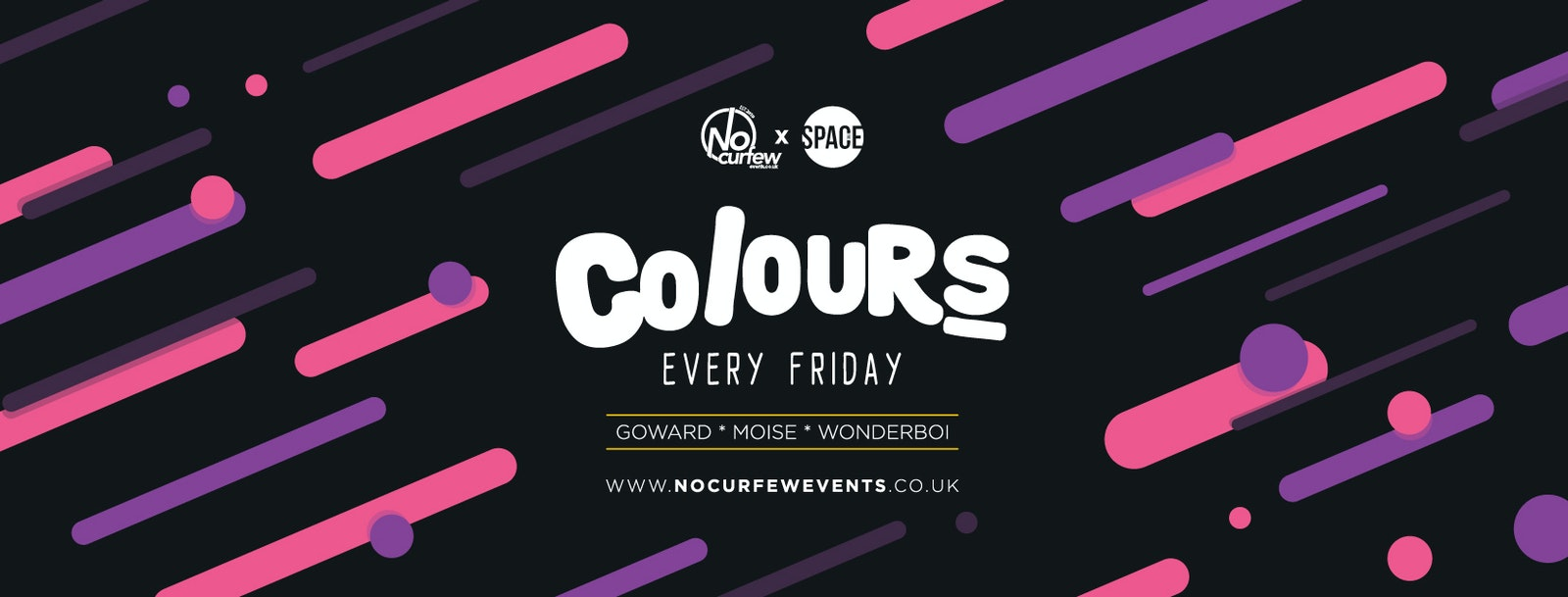 Colours Leeds at Space :: Half Price Tickets with a Free Drink before 12am!