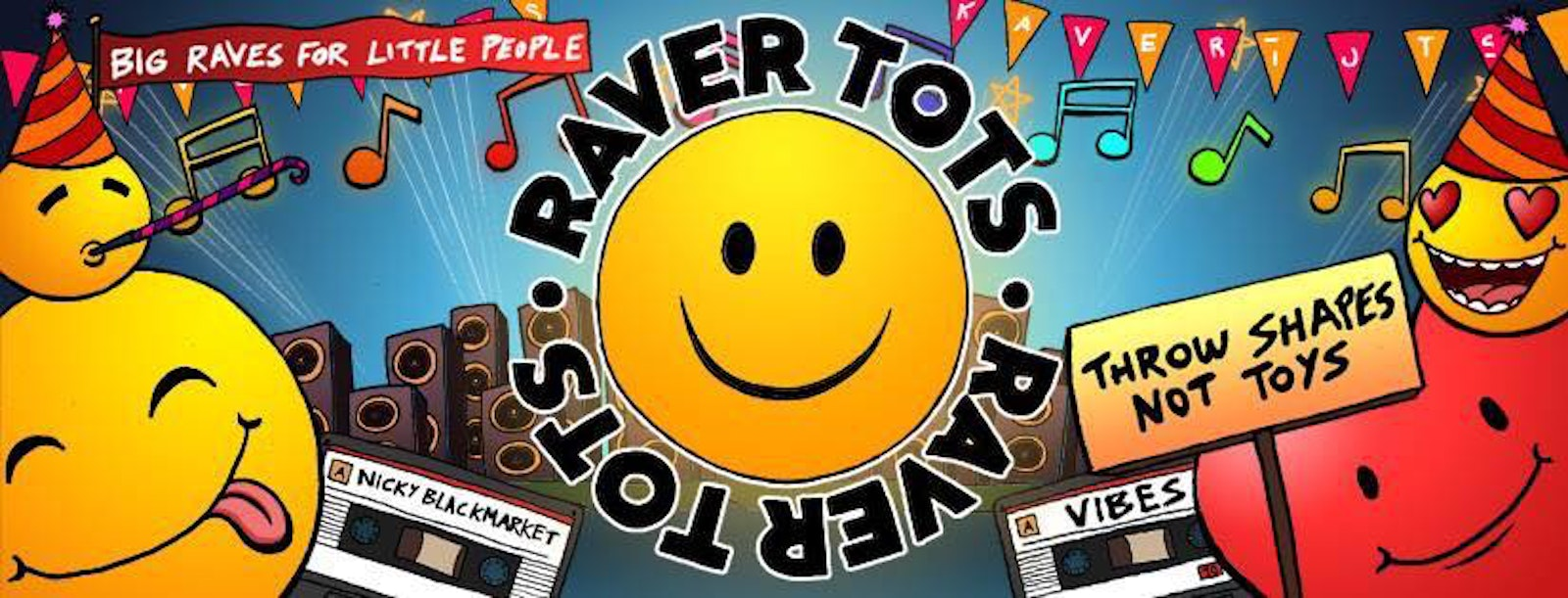 Raver Tots Newcastle Halloween Party!