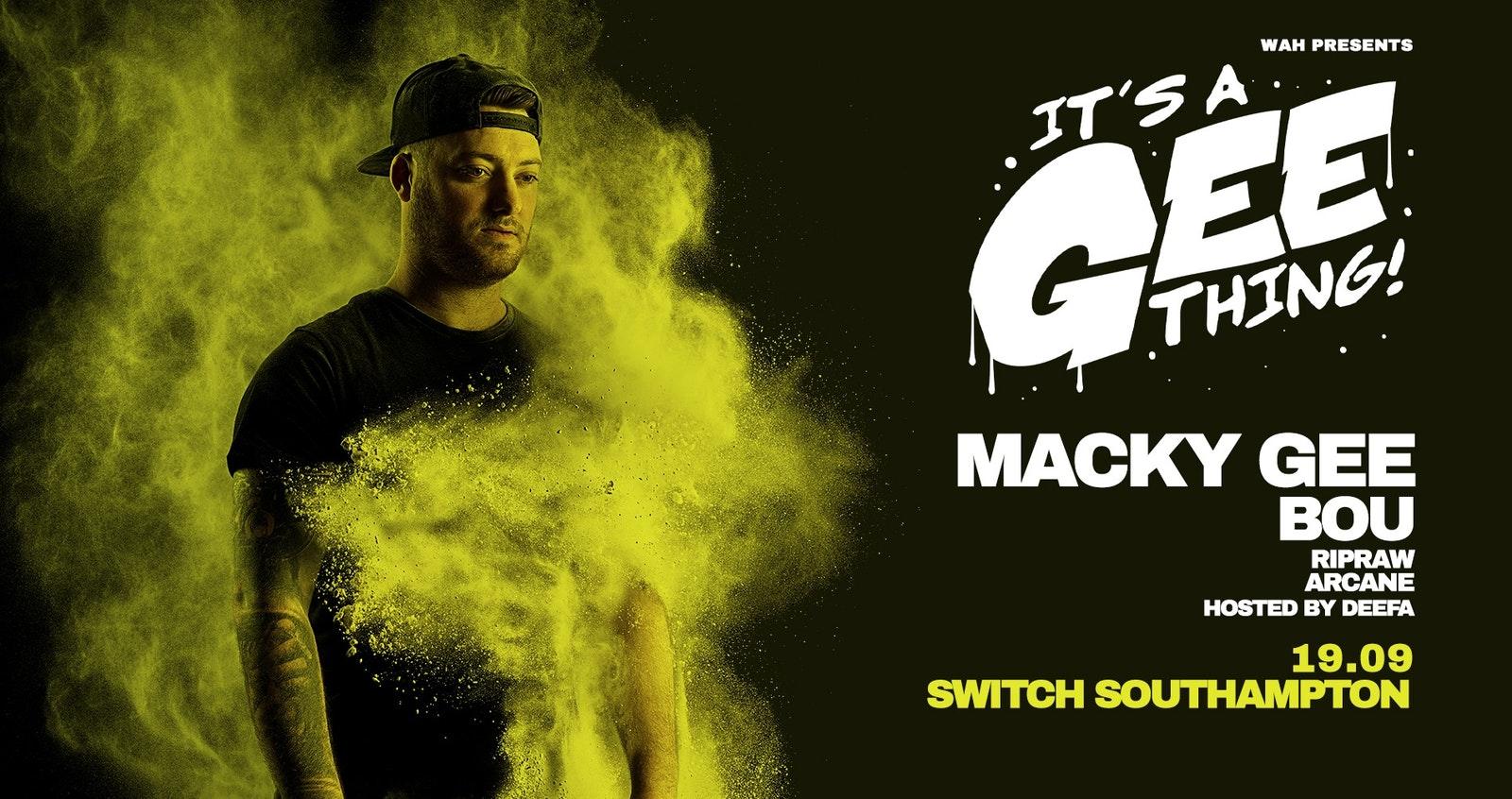 WAH Presents: Macky Gee & Bou