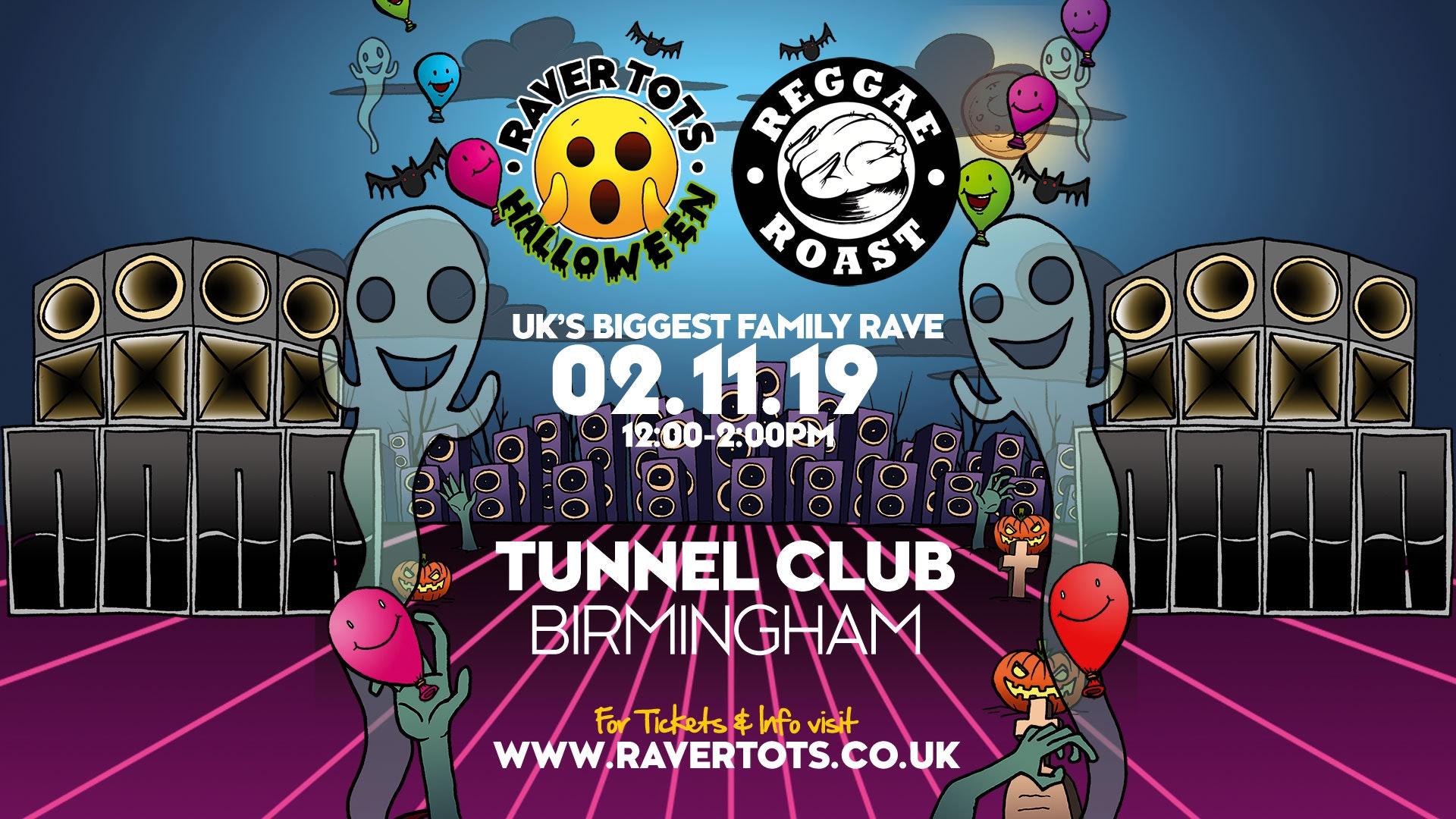 Reggae Tots Halloween Party – Birmingham