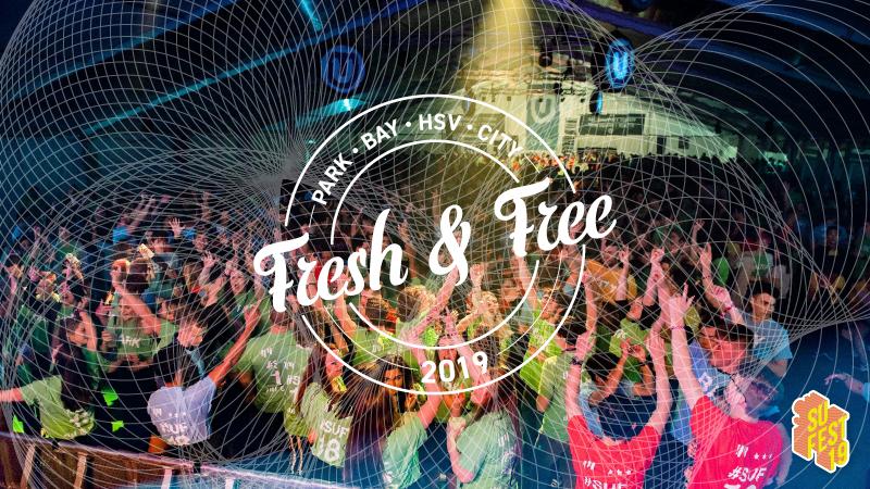 Fresh and Free • SU Fest 19 • Club Nights