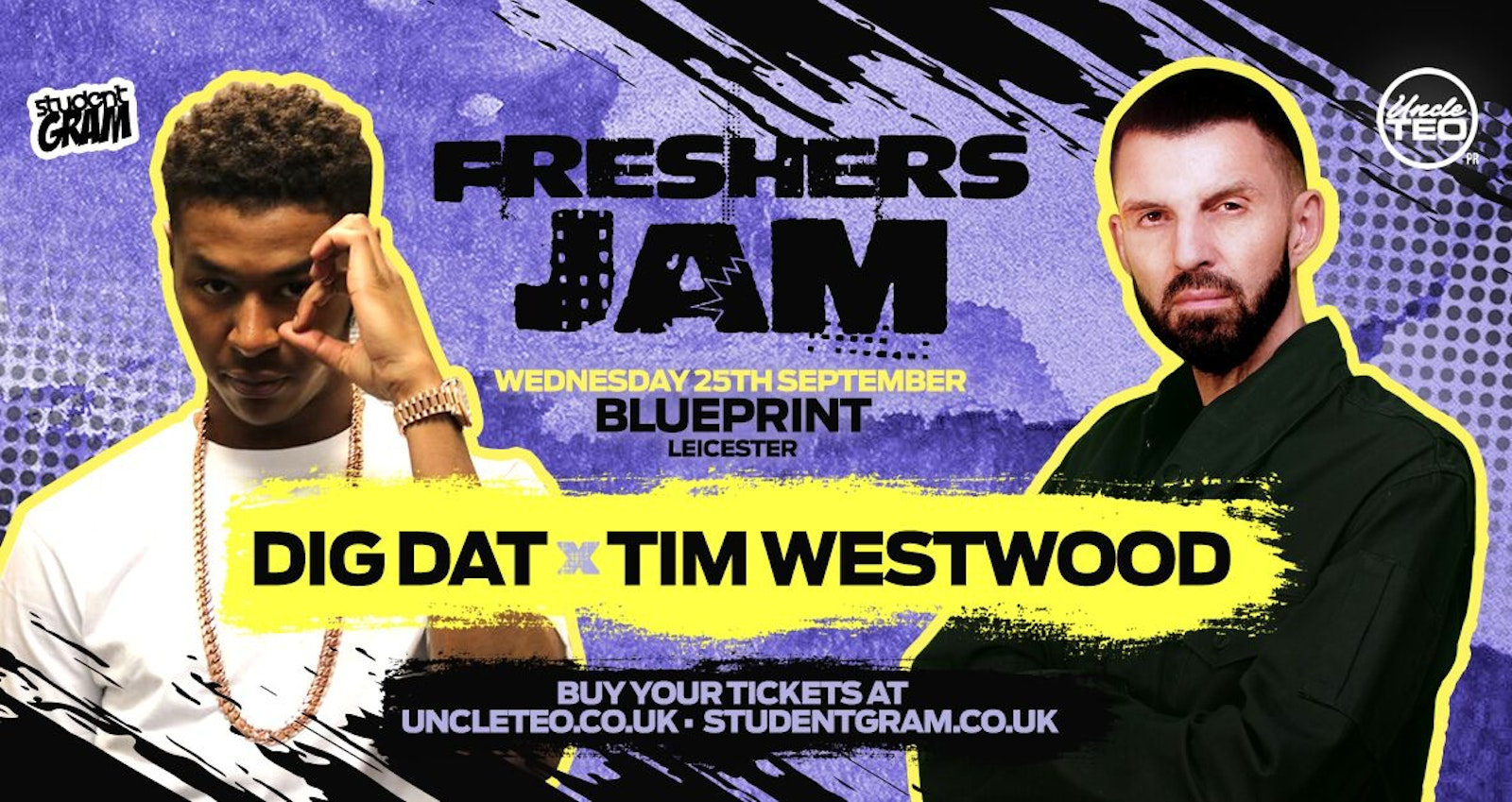 Freshers Jam feat DIG DAT & TIM WESTWOOD Live at Blueprint