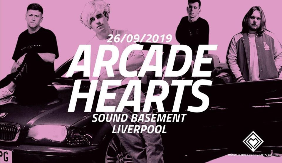 Arcade Hearts – Sound Basement – 26/09/19